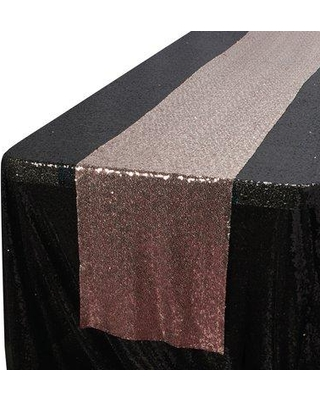 The Party Aisle Sequin Table Runner W000647198 Color: Blush