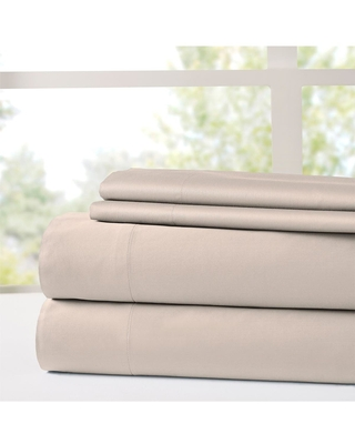 MODERN THREADS Italian Hotel Collection 1000 Thread Count 100% Cotton Sheet Set - Oat - Full at Nordstrom Rack