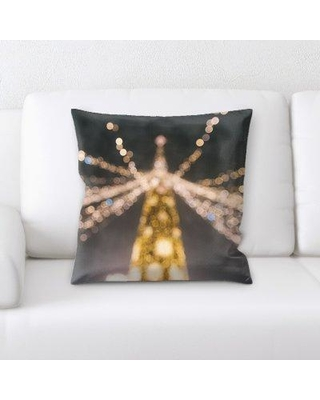 East Urban Home Blurred Out Throw Pillow BF123801