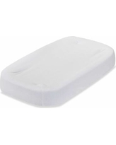 LA Baby Terry Cocoon Changing Pad Cover, White