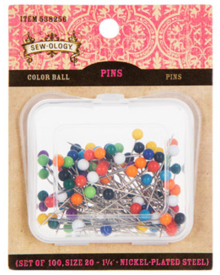 Color Ball Pins - Size 20
