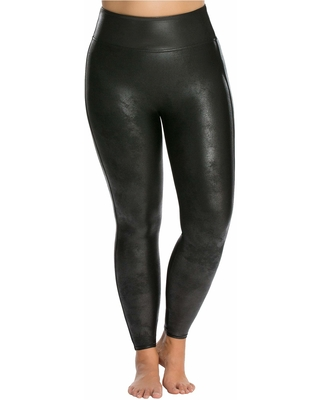 7e33a50eb962c Great Deal on Spanx Plus Size Faux Leather Leggings (Black) Women's ...