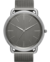 Men's Mesh Strap Watch - Goodfellow & Co Gunmetal