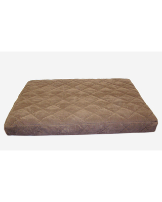 Carolina Pet Jamison Quilted Orthopedic Protector Pad Brown Pet Bed (Extra Large)