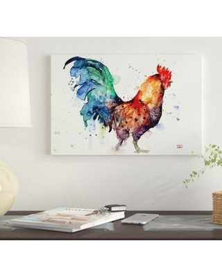 East Urban Home East Urban Home 'Gallo' By Dean Crouser Graphic Art Print  on Wrapped Canvas EUME3625 Size: 12