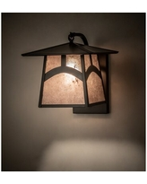 Shop Deals For Henrietta 2 Light Dimmable Craftsman Brown Armed Sconce Foundry Select
