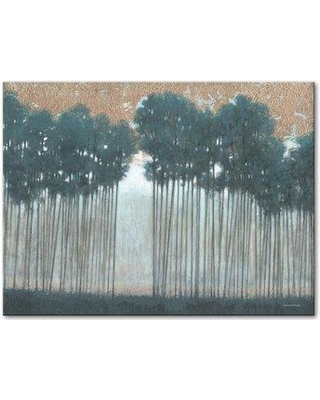 """Winston Porter 'Towering Grove' Acrylic Painting Print on Wrapped Canvas BI182268 Size: 20"""" H x 30"""" W x 2"""" D"""