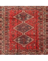 Amazing Savings On Bloomsbury Market Weighton Traditional Red Black Light Yellow Area Rug X112967191 Rug Size Square 4