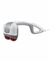 HoMedics Hhp-351H Percussion Action Plus Heat Hand-Held Massager - Gray / White
