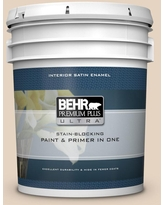 Big Savings For Behr Ultra 1 Gal Qe 10 Stone Wash Extra Durable Satin Enamel Interior Paint And Primer In One