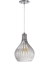 Transitional Design in Chrome Finish 3 3//4 Wide Aspen Creative 61052 1 Hanging Mini Pendant Ceiling Light with Metallic Gray Opal Glass Shade