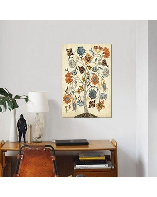 """East Urban Home 'Vintage Tree of Life' Graphic Art Print on Canvas ESBH6640 Size: 40"""" H x 26"""" W x 1.5"""" D"""