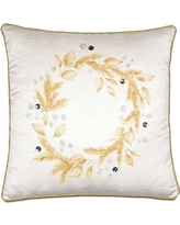 Eastern Accents Christmas Wreath Throw Pillow ATE-885