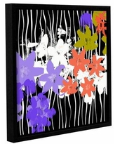 Don T Miss Sales On Latitude Run Blossoming Garden I Painting Print On Wrapped Canvas Canvas Fabric In Red Brown Purple Size 36 H X 36 W X 2 D Wayfair