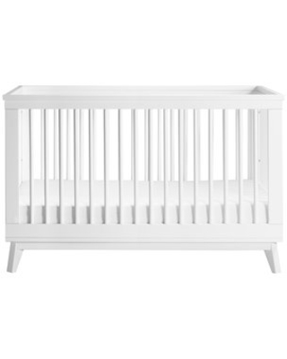 babyletto Scoot 3-in-1 Convertible Crib Color: White