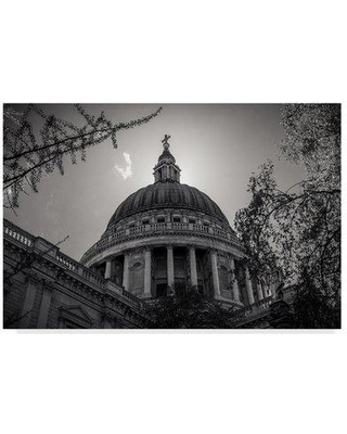 """Trademark Art 'Under The Dome' Photographic Print on Wrapped Canvas ALI35215-CGG Size: 22"""" H x 32"""" W x 2"""" D"""