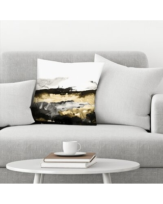 "Drizzle I Throw Pillow East Urban Home Size: 20"" x 20"""