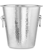 Hammered Stainless-Steel Wine Bucket