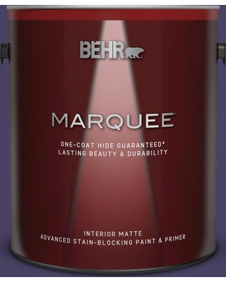 BEHR MARQUEE 1 gal. #S-H-650 Berry Charm Matte Interior Paint and Primer in One