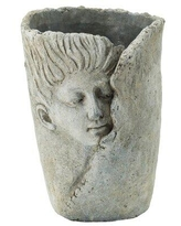 Discover Deals On Laloma 100 Cement Statue Planter Canora Grey Size 10 8 H X 7 1 W X 7 1 D