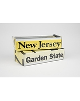 New Jersey license plate box - New Jersey Father's Day gift - New Jersey Graduation gift - New Jersey Souvenir - New Jersey gift idea