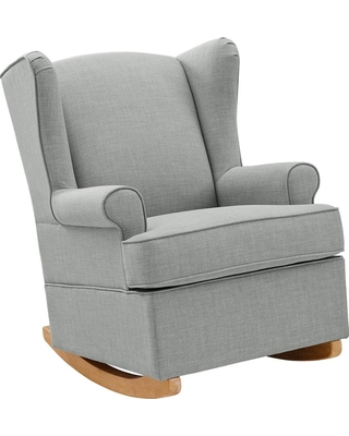 Outstanding Baby Relax Baby Relax Brennan Wingback Convertible Rocker Gray From Target Parenting Com Shop Evergreenethics Interior Chair Design Evergreenethicsorg