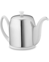 Guy Degrenne Salam Insulated Teapot, 6-Cup, White