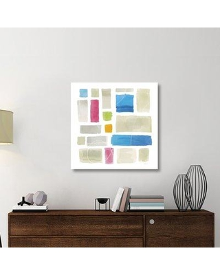 """East Urban Home 'Comares II' Graphic Art Print on Canvas UBAH5956 Size: 36"""" H x 36"""" W x 1.5"""" D"""