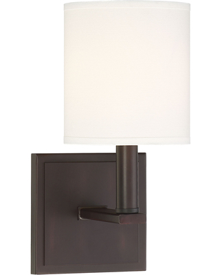 """Savoy House Waverly 11"""" Wall Sconce in English Bronze"""