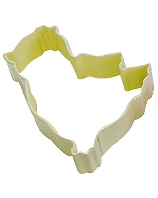 """R&M Chick 3"""" Cookie Cutter Daffodil With Brightly Colored, Durable, Baked-on Polyresin Finish"""