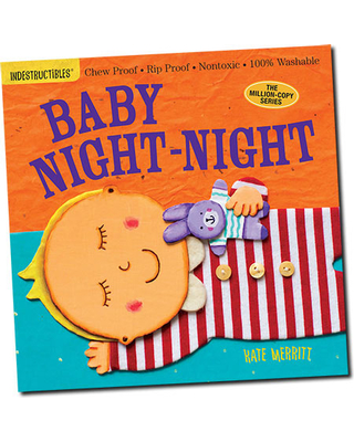 Indestructibles - Baby Night-Night - Baby Toys & Gifts for Ages 0 to 1 - Fat Brain Toys