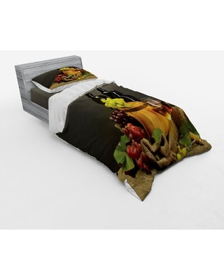 Winery Duvet Cover Set East Urban Home Size: Twin Duvet Cover + 2 Additional Pieces