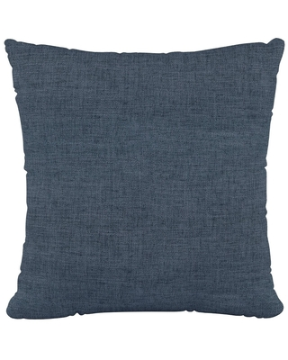 Polyester Square Pillow In Zuma Navy - Skyline Furniture, Blue