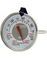 Taylor Leave-in Meat Thermometer, Silver