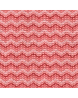 East Urban Home Zarate Chevron Wool Red Area Rug X113491625 Rug Size: Square 5'