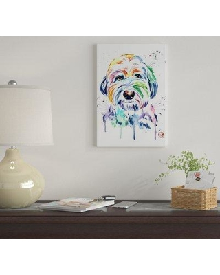 """East Urban Home 'Gus' By Lisa Whitehouse Graphic Art Print on Canvas EUME1957 Size: 18"""" H x 12"""" W x 0.75"""" D"""