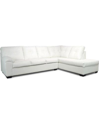 Latitude Run Molinaro Right Hand Facing Sectional X112789973 Upholstery Color: White