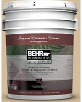 BEHR Premium Plus Ultra 5 gal. #N290-4 Curious Collection Eggshell Enamel Interior Paint and Primer in One