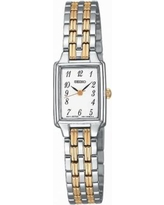 Seiko Women's Two Tone Stainless Steel Watch - SXGL61, Size: 2XL, multicolor