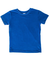 Royal Blue Knitted Toddler T-Shirt - 4T