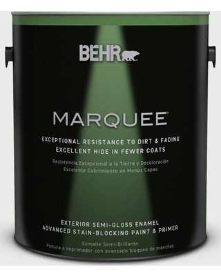 BEHR MARQUEE 1 gal. #PPU25-12 Minimalistic Semi-Gloss Enamel Exterior Paint and Primer in One