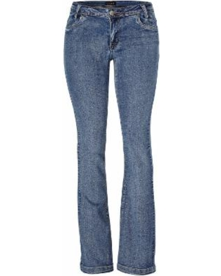 """Casual Boot CUT Jeans Jeans - Blue"""