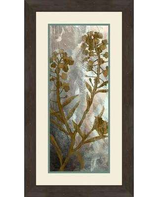 PTM Images Floral Memories II Framed Painting Print on Canvas 2-11343B