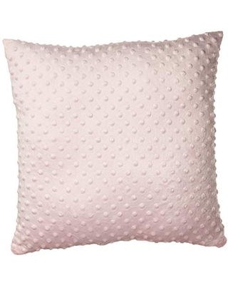 Baby Doll Bedding Heavenly Soft Crib Throw Pillow, Pink