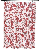 Alcott Hill Rushford Shower Curtain ALTL1505 Color: Orange