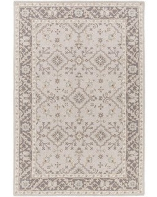 Ringwood Hand Tufted Traditional Border Wool Area Rug