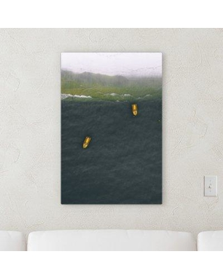 """East Urban Home 'Beautiful Aerial Shots 21' Photographic Print on Wrapped Canvas BI059483 Size: 36"""" H x 24"""" W x 2"""" D"""