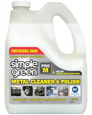 Simple Green Pro M Professional Grade 128 oz. Metal Cleaner and Polish (Case of 4)