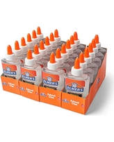 Elmer's Liquid School Glue, Clear, Washable, 5 Ounces, 24 Count - Great for Making Slime