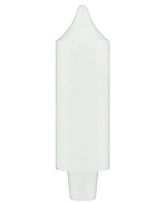 """White Coach Candle - 5"""""""